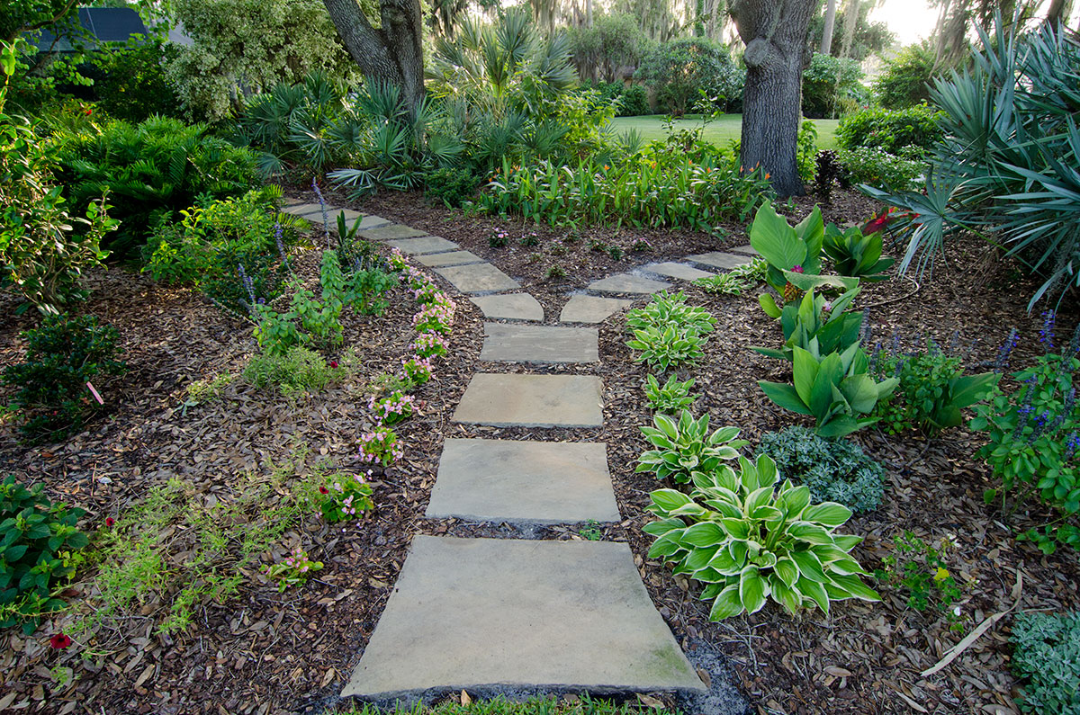 Pathways Entryways Dry Laid Amp Mortared Path Tampa Fl