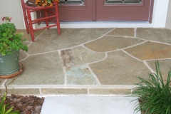 Oklahoma Sandstone Mortared Entrance