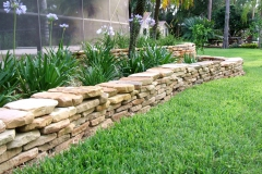 Dry-stacked Tennessee stone